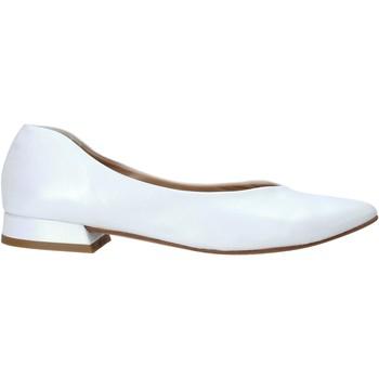 kengät Naiset Balleriinat Mally 6816 Valkoinen