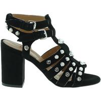 kengät Naiset Korkokengät Mally 6123 Musta