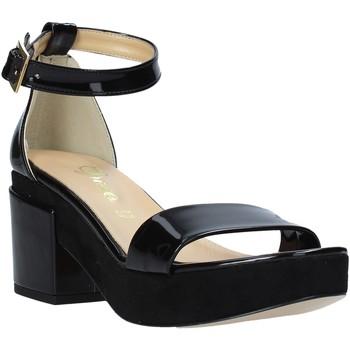 kengät Naiset Korkokengät Grace Shoes 9978 Musta