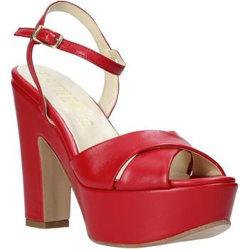 kengät Naiset Sandaalit ja avokkaat Esther Collezioni T260 CRIS Punainen