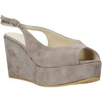 kengät Naiset Sandaalit ja avokkaat Esther Collezioni ZC 042 Harmaa