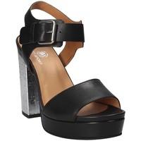 kengät Naiset Sandaalit ja avokkaat Janet Sport 41907 Musta