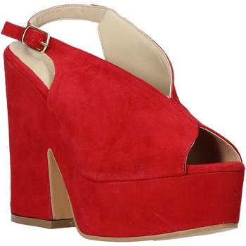 kengät Naiset Sandaalit ja avokkaat Esther Collezioni ALBA 107 Punainen