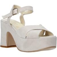 kengät Naiset Sandaalit ja avokkaat Esther Collezioni RM133 Harmaa