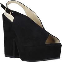 kengät Naiset Sandaalit ja avokkaat Esther Collezioni ALBA 107 Musta