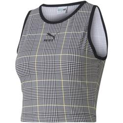 vaatteet Naiset Hihattomat paidat / Hihattomat t-paidat Puma 597891 Musta