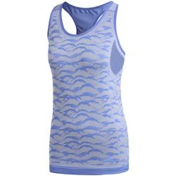 vaatteet Naiset Hihattomat paidat / Hihattomat t-paidat adidas Originals CF5138 Sininen