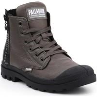 kengät Naiset Korkeavartiset tennarit Palladium Manufacture Pampa UBN ZIPS 96857-213-M brown
