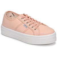 kengät Naiset Matalavartiset tennarit Victoria BARCELONA LONA Pink