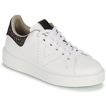 kengät Naiset Matalavartiset tennarit Victoria UTOPIA GLITTER Valkoinen / Ruskea