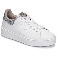 kengät Naiset Matalavartiset tennarit Victoria UTOPIA GLITTER White