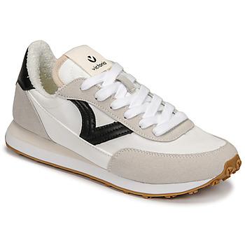kengät Naiset Matalavartiset tennarit Victoria ASTRO NYLON Valkoinen / Musta