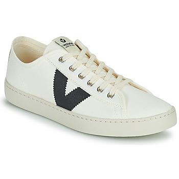 kengät Naiset Matalavartiset tennarit Victoria BERLIN LONA GRUESA Valkoinen / Sininen
