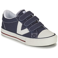 kengät Pojat Matalavartiset tennarit Victoria TRIBU TIRAS LONA Sininen