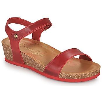 kengät Naiset Sandaalit ja avokkaat Panama Jack CAPRI Punainen