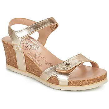 kengät Naiset Sandaalit ja avokkaat Panama Jack JULIA SHINE Kulta