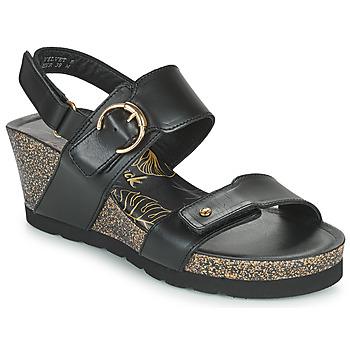 kengät Naiset Sandaalit ja avokkaat Panama Jack VELVET Musta