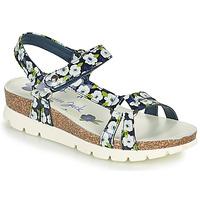kengät Naiset Sandaalit ja avokkaat Panama Jack SALLY GARDEN Sininen