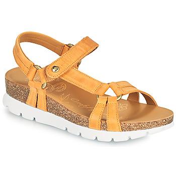 kengät Naiset Sandaalit ja avokkaat Panama Jack SALLY BASICS Keltainen