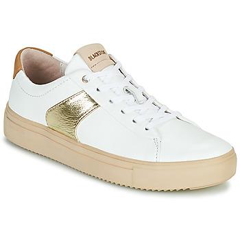 kengät Naiset Matalavartiset tennarit Blackstone VL57 Valkoinen
