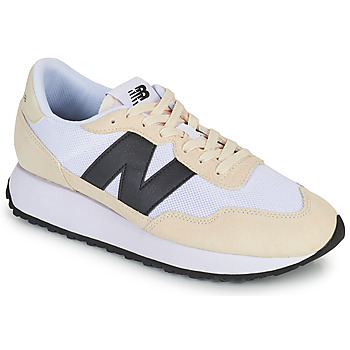 kengät Miehet Matalavartiset tennarit New Balance 237 Valkoinen / Musta