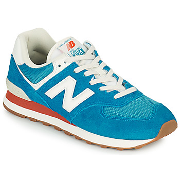 kengät Miehet Matalavartiset tennarit New Balance 574 Sininen / Valkoinen