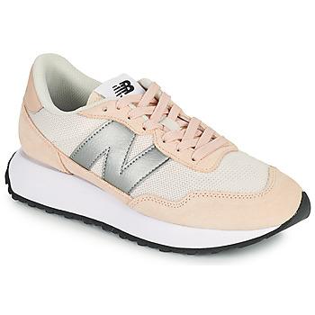 kengät Naiset Matalavartiset tennarit New Balance 237 Vaaleanpunainen / Hopea