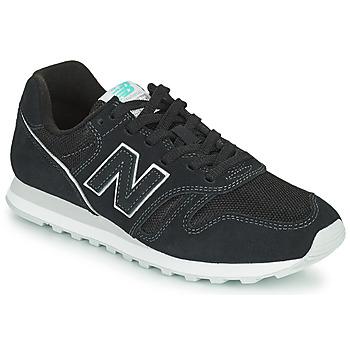 kengät Naiset Matalavartiset tennarit New Balance 373 Musta