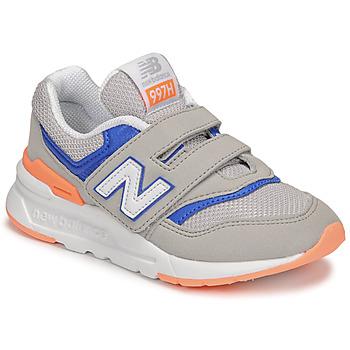 kengät Pojat Matalavartiset tennarit New Balance 997 Harmaa / Sininen