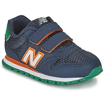 kengät Pojat Matalavartiset tennarit New Balance 500 Sininen / Oranssi