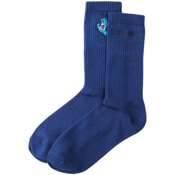 Asusteet / tarvikkeet Miehet Sukat Santa Cruz Screaming mini hand sock Sininen