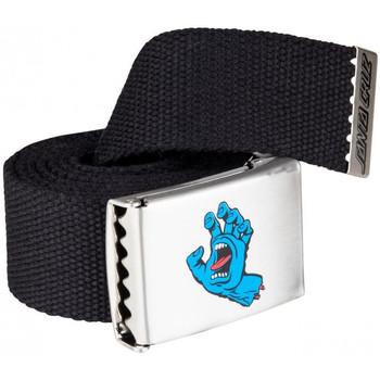 Asusteet / tarvikkeet Miehet Vyöt Santa Cruz Screaming mini hand belt Musta