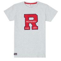 vaatteet Pojat Lyhythihainen t-paita Redskins TSMC180161-BLENDED-GREY Harmaa