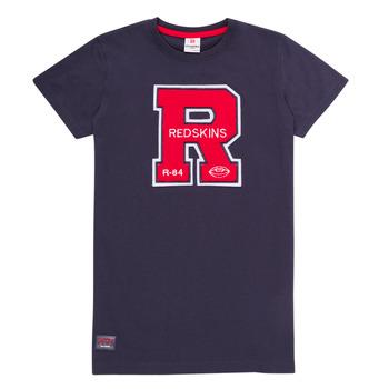 vaatteet Pojat Lyhythihainen t-paita Redskins TSMC180161-NAVY Laivastonsininen