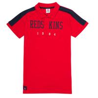 vaatteet Pojat Lyhythihainen poolopaita Redskins PO180117-RED Punainen