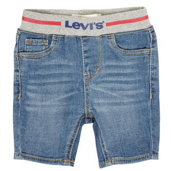vaatteet Pojat Shortsit / Bermuda-shortsit Levi's 6EB819-M0P Sininen