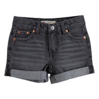 vaatteet Tytöt Shortsit / Bermuda-shortsit Levi's 3E4536-D0K Harmaa