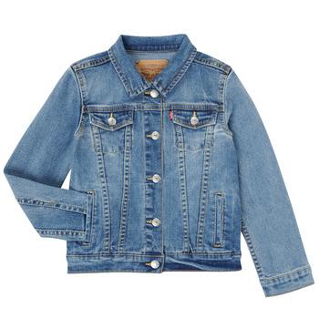 vaatteet Tytöt Farkkutakki Levi's 3E4388-M0K Sininen