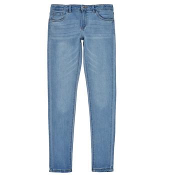 vaatteet Tytöt Skinny-farkut Levi's 710 SUPER SKINNY Sininen