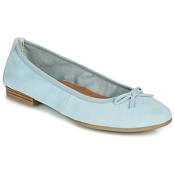 kengät Naiset Balleriinat Tamaris ALENA Sininen