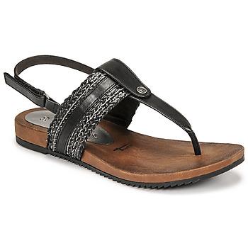 kengät Naiset Sandaalit ja avokkaat Tamaris LOCUST Musta