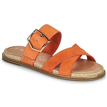 kengät Naiset Sandaalit Tamaris LIDYA Oranssi