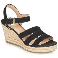 kengät Naiset Sandaalit ja avokkaat Geox D SOLEIL C Musta