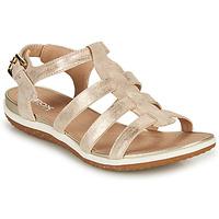 kengät Naiset Sandaalit ja avokkaat Geox D SANDAL VEGA A Kulta