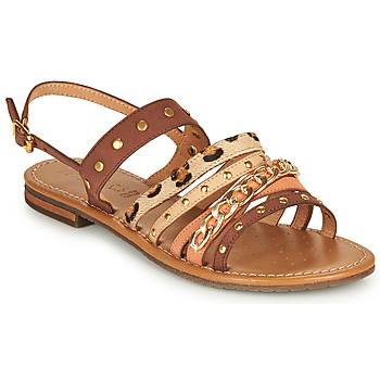 kengät Naiset Sandaalit ja avokkaat Geox D SOZY S I Ruskea / Beige