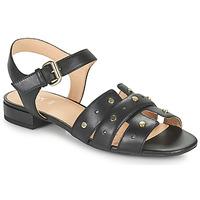 kengät Naiset Sandaalit ja avokkaat Geox D WISTREY SANDALO C Musta