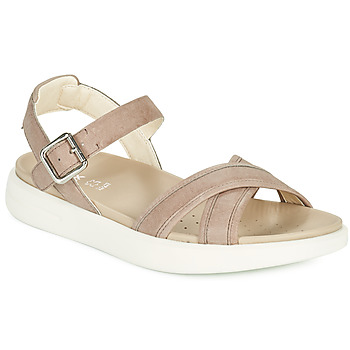 kengät Naiset Sandaalit ja avokkaat Geox D XAND 2S B Beige