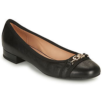 kengät Naiset Balleriinat Geox D WISTREY D Musta