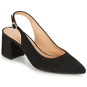 kengät Naiset Korkokengät Geox D BIGLIANA A Musta
