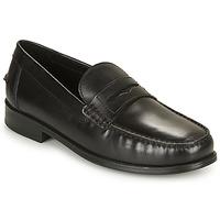 kengät Miehet Mokkasiinit Geox U NEW DAMON B Musta